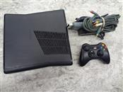 MICROSOFT XBOX 360 120GB WITH CONTROLLER & HOOKUPS **AS IS BAD TRAY/MODIFIED**